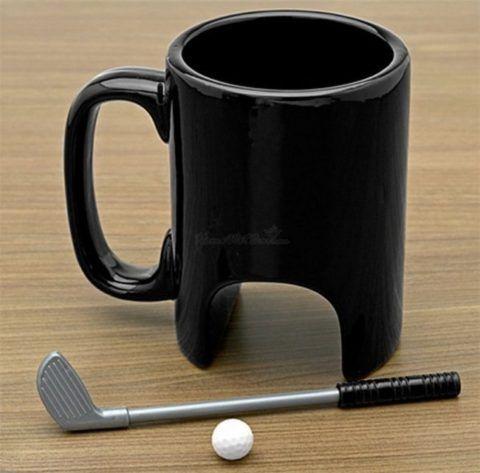 Кружка для любителей гольфа.