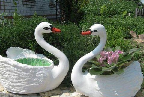 Лебеди для сада