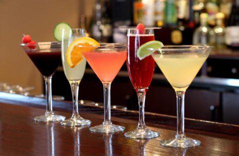 Легкие и красивые коктейли