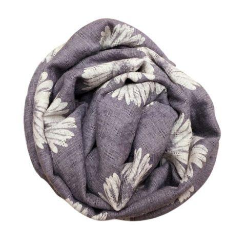 Льняной шарфик