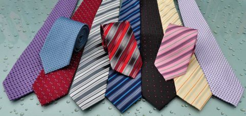 Мужские галстуки.