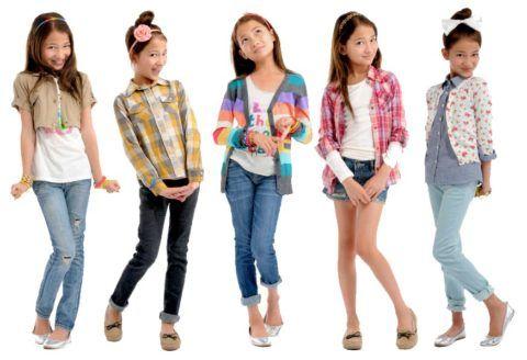 Очаровательные модницы