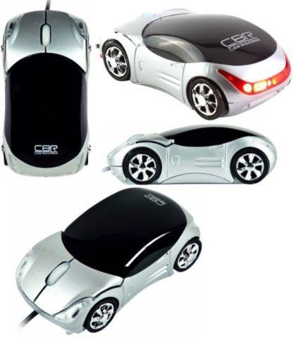 Оптическая мышка в виде машины