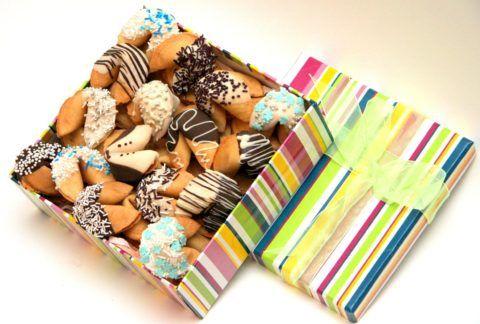 Печенье в бонбоньерке