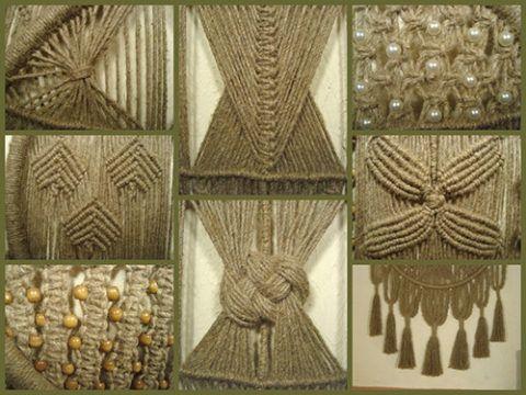 Плетеное панно