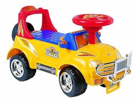 Подарок крестнику на день рождения, детская машина.