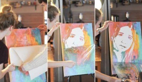 Портрет «Нарисуй сам»