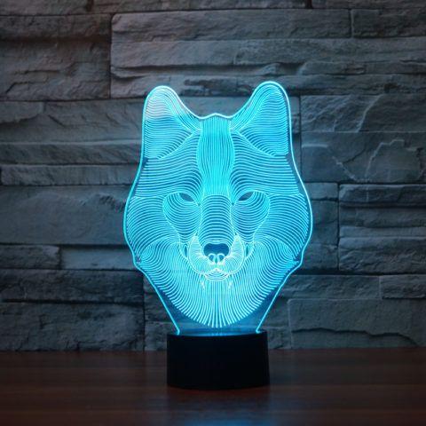 3Д светильник.