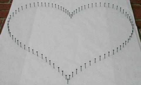 Сердце на ватмане