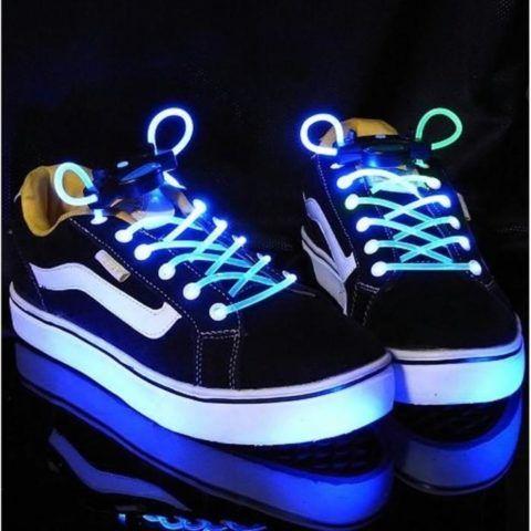 Шнурки, которые светятся в темноте