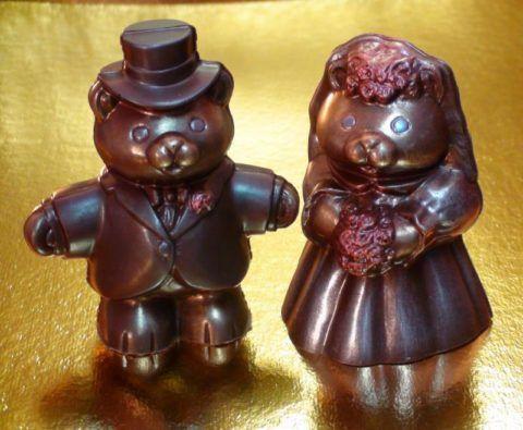 Шоколадные мишки «Жених и невеста»