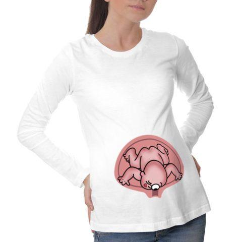 Смешная кофта для будущей мамы