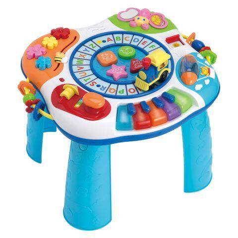 Такой столик надолго привлечёт внимание ребёнка.