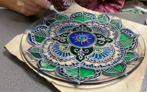 Тарелка с рисунком