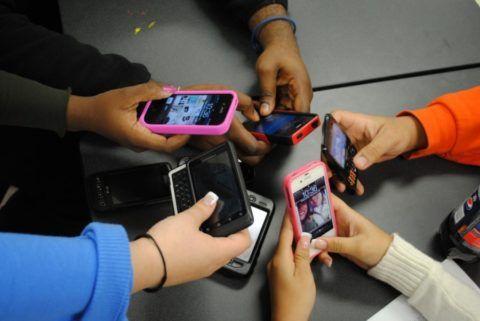 Телефоны есть у каждого.