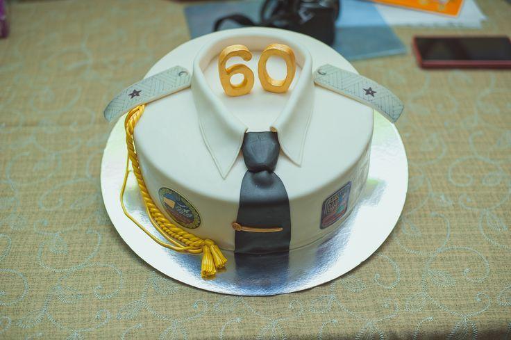 Торт на 60 лет мужчине своими руками фото 12