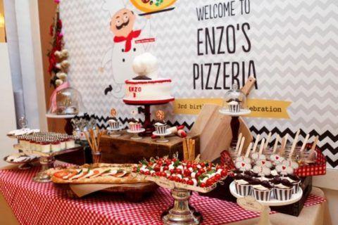 Вечеринка с пиццей