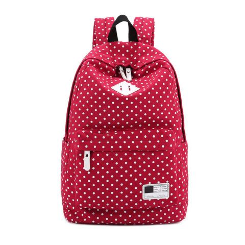 Яркий рюкзак для летних путешествий.