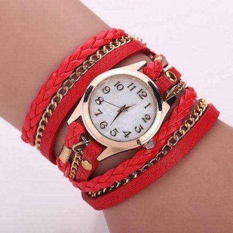 Женские часы для крестницы.