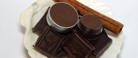 Бальзам для душа из шоколада