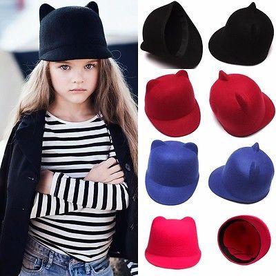 Детская фетровая шляпка