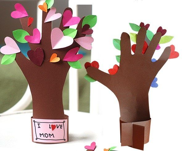 Подарок на день рождения маме своими руками на ватмане
