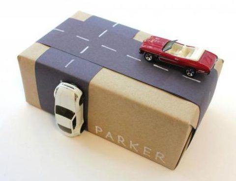 Именная упаковка от Parker