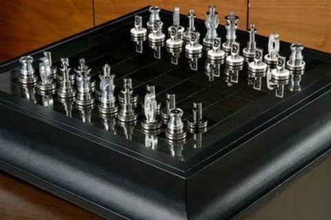 Интересная шахматная доска