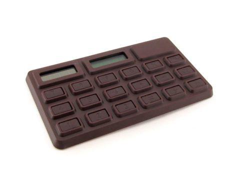 Калькулятор в виде шоколадки