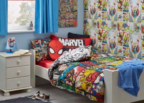 Комплект постельного белья MARVEL