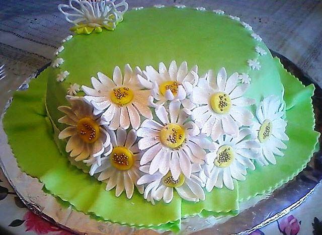 Украшаем торты в домашних условиях фото мастикой
