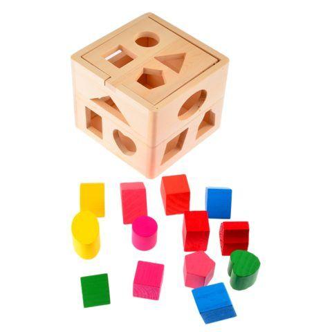 Кубик и формочки