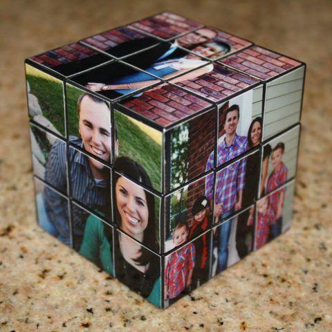 Кубик Рубика с фотографиями