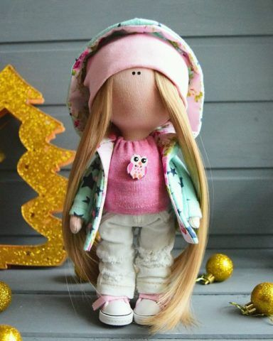 Кукла в осеннем одеянии