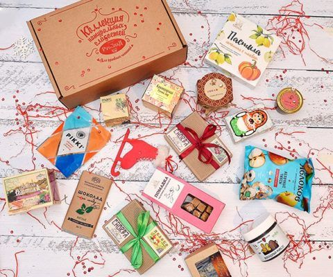Магазинные наборы сладкого