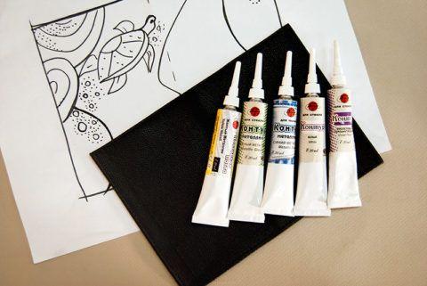 Материалы для росписи