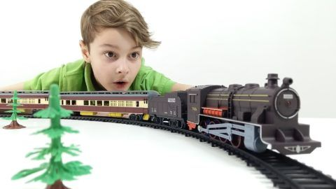 Мечта мальчишки – железная дорога