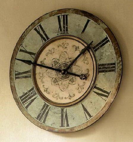 Настенные часы в старинном стиле