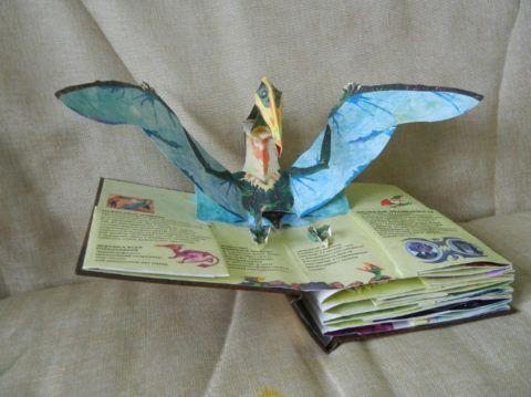 Объемная книга о динозаврах