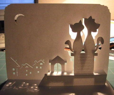 Объемные 3D открытки