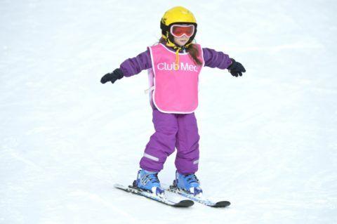 Первые лыжи
