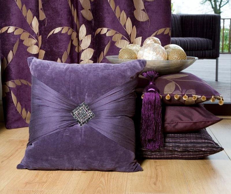 Декоративная подушка для дивана своими руками 1