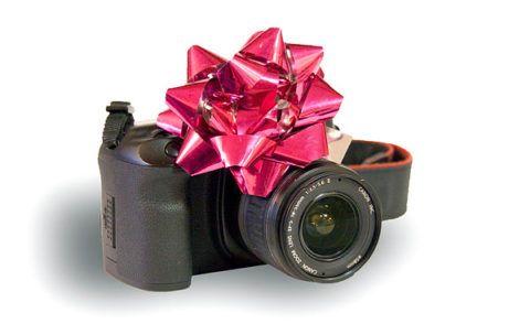 Полупрофессиональный зеркальный фотоаппарат