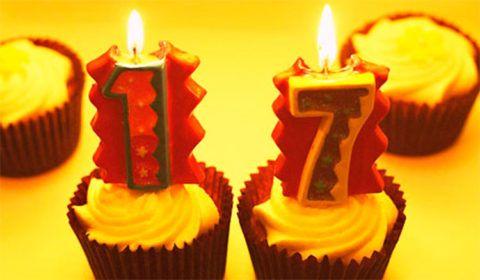 Празднуем день рождения 17 лет