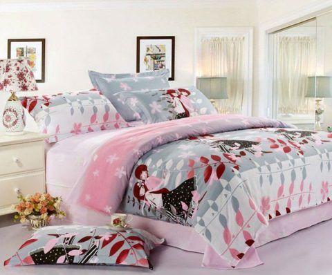 Пример постельного белья для молодоженов