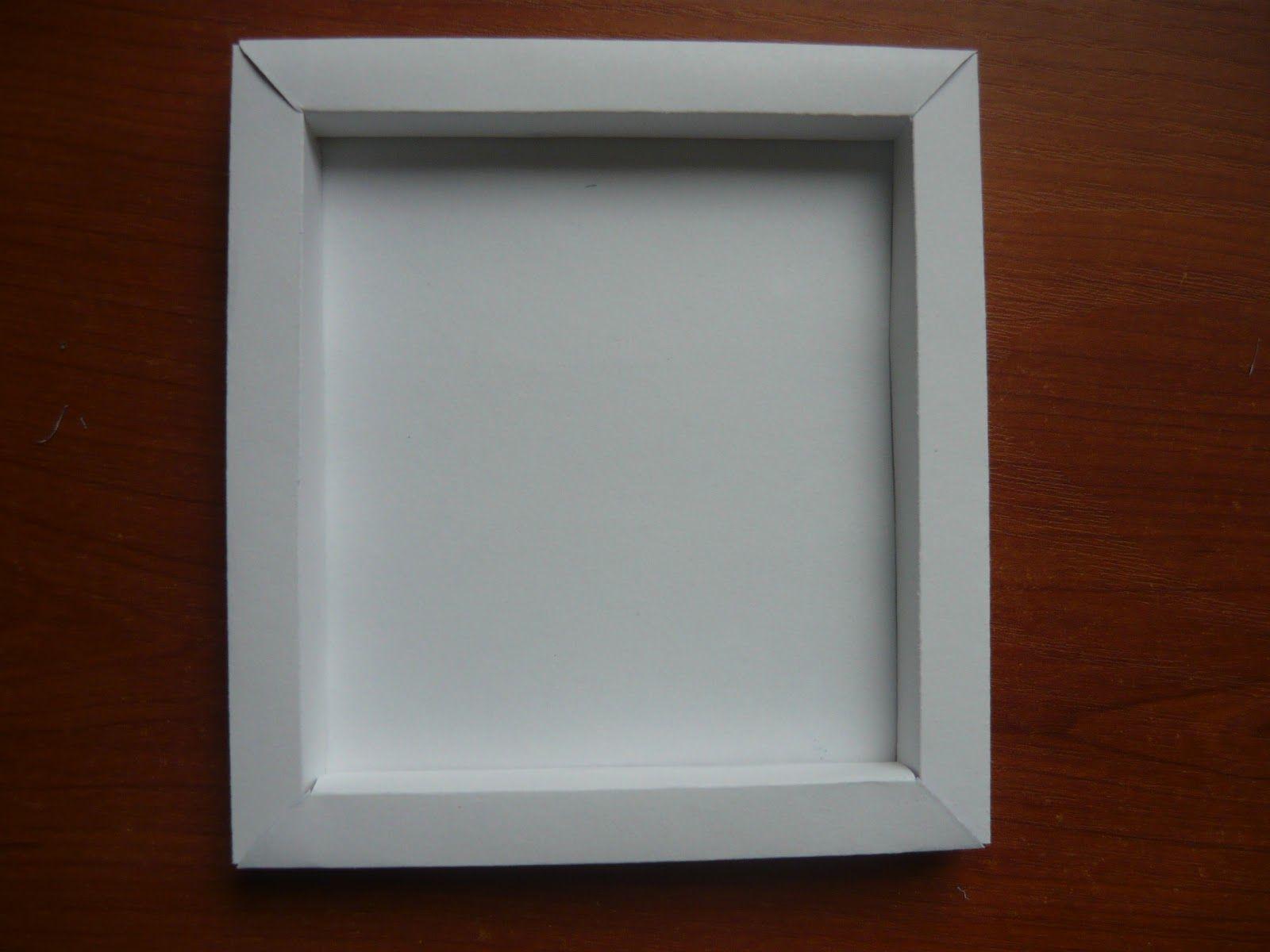 Рамка из ватмана для фото своими руками из