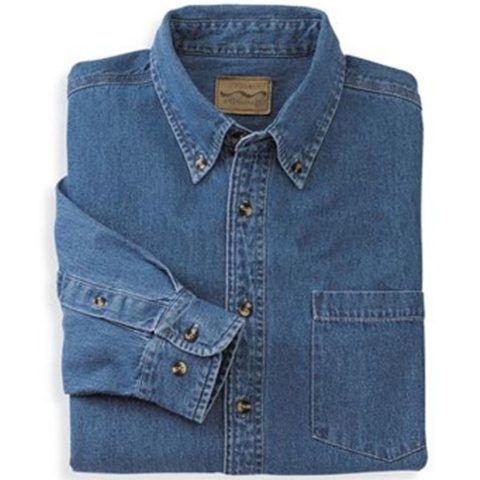 Рубашка джинсовая.