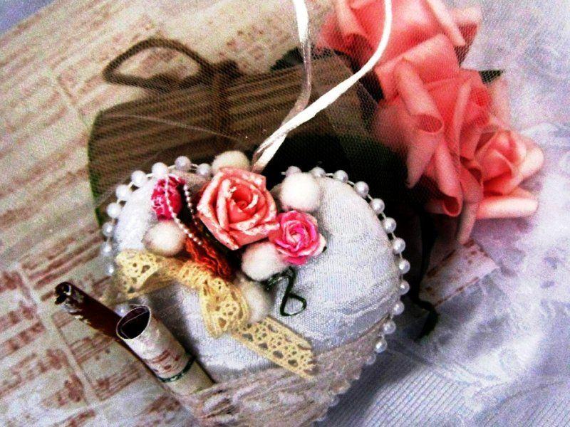 Подарок из ткани своими руками сердце 82