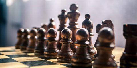 Шахматы в качестве поздравления