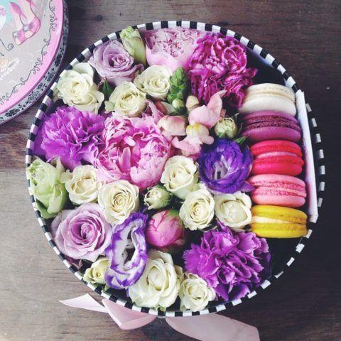 Шкатулка с цветами.